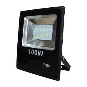 Светодиодный прожектор Powerlux 100Вт, 6500К, IP65., фото 2