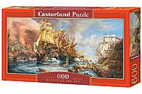 Пазлы '' Битва на море '' Castorland 600 элементов