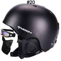 Горнолыжный / сноубордический шлем DOTOMY MOON (Matte Black)