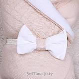 """Демисезонный конверт-одеяло """"Глория"""" карамель, фото 3"""