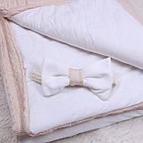 """Демисезонный конверт-одеяло """"Глория"""" карамель, фото 4"""