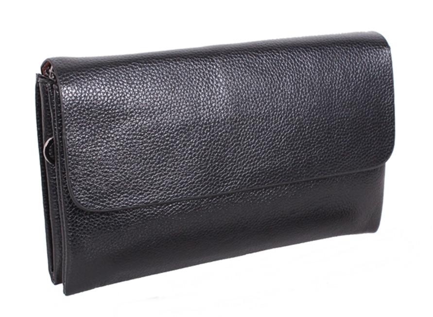 0da676422396 Мужская барсетка-клатч из надежной искусственной кожи черный Artificial  RT-2168 - АксМаркет в