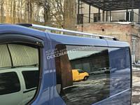 Рейлинги на крышу Opel Vivaro 2001+ ABS концевик, короткая база