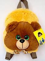 Детский рюкзак игрушка Медвежонок 22*24*8 см коричневый, фото 1