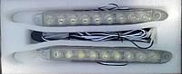 Светодиодные  ходовые огни 9 LED DRL 12/24 6 Вт дневного света и декоративные лампы