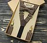 Набор I&M Craft галстук-бабочка и подтяжки для брюк (030206)