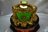 Трехлапая жаба золотая крутящийся