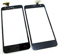 Сенсорное стекло для Alcatel OT 6012 One Touch Idol Mini Sate/6012D, черный