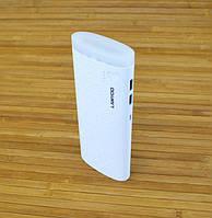 Повербанк 15600MAH  LAMYOO 1 - белый + фонарик LED
