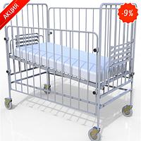 Кровать функциональная детская в комплекте с матрасом  КФД-01 (Промед)