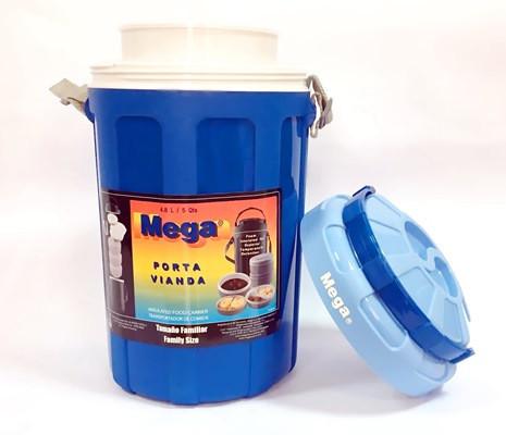 Изотермический контейнер для еды Mega 4.8 л (Синий)