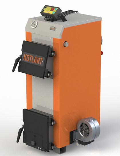 Твердотопливный котел Котлант Эко КН-15 с автоматикой