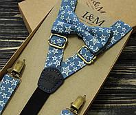 Набор I&M Craft галстук-бабочка и подтяжки для брюк (030213)