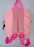 Детский мягкий рюкзак игрушка Овечка 22*24 см, фото 2