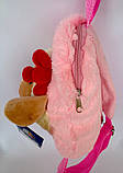 Детский мягкий рюкзак игрушка Овечка 22*24 см, фото 3
