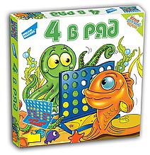 Игра детская настольная 4 в ряд
