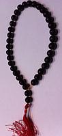 """Чётки из камня """"Янтарь натуральный плавленный"""" на 33 бусины , фото 1"""