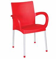 """Пластиковое кресло с алюмин. ножками """"Sumela"""", фото 1"""