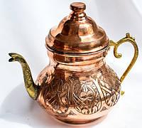 Оригинальный чайник,заварник! Медь! Турция! 1,5 л.