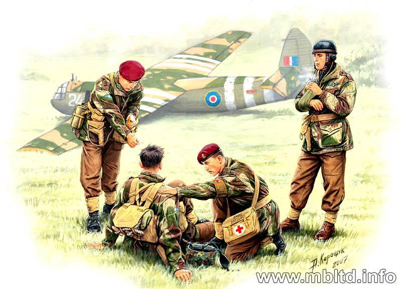 British paratroopers, 1944. Kit 2. 1/35 MB3534
