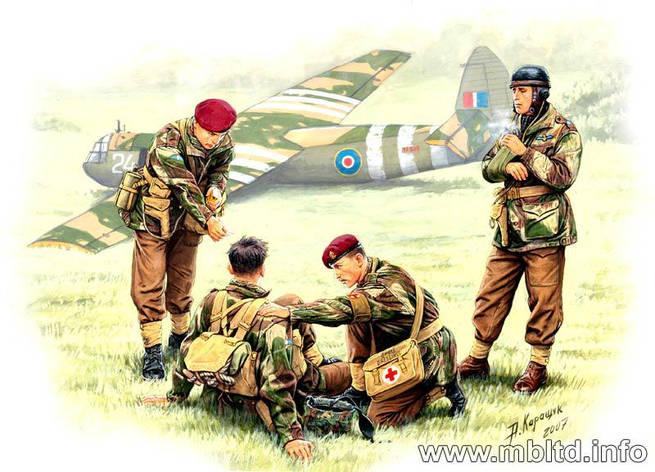 British paratroopers, 1944. Kit 2. 1/35 MB3534, фото 2