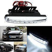 Универсальные автомобильные  дневные ходовые огни LED DRL 018