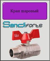 "Кран шаровый SD Forte 1"" ВН вода (бабочка)"