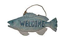 "Табличка рыбка ""WELCOME"""