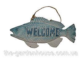 "Табличка рибка ""WELCOME"""