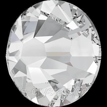 Кристаллы Сваровски клеевые холодной фиксации 2058 Crystal