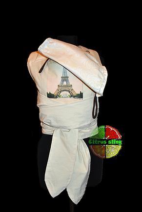 Май-слинг Романтичный Париж Citrus Sling, фото 3