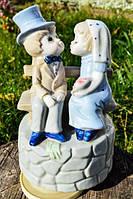 Музыкальная скульптура Влюбленная пара! Germany!