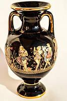 Очаровательная Амфора,ваза! Позолота! GREECE!