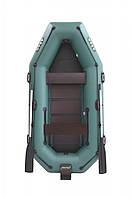 Трехместная надувная гребная лодка ПВХ с транцем ARGO A-280TБ. Доставка бесплатная.