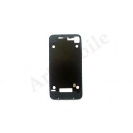 Рамка задней крышки корпуса для iPhone 4S, черная