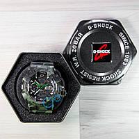 Мужские часы casio g-shock, часы камуфляж касио