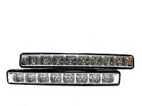 Универсальные автомобильные светодиодные дневные ходовые огни LED DRL 018