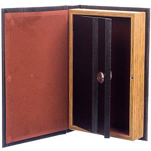 Шкатулка-сейф в виде книге на ключе  Богатства и процветания 26*17*5 см (012UE), фото 2