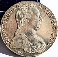 Таллер Мария терезия! 1780 г. Серебро! Рестрайк.