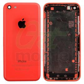 Корпус для iPhone 5C, розовый, копия высокого качества