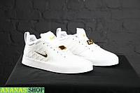 Мужские кроссовки Nike Tiempo Vetta White ТОП качество! Натуральная кожа!