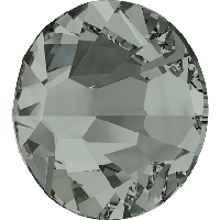 Стразы Сваровски (Swarovski) клеевые холодной фиксации Black Diamond F (215) 2058