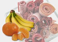 Пастила з банану та мандарину (30г)