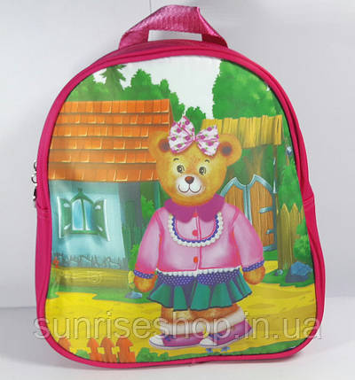 """Детский рюкзак """"Мишки"""" для садика и подготовки, фото 2"""