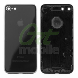 Корпус для iPhone 7, черный, глянцевый, Jet Black