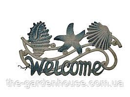 """Табличка """"WELCOME"""" черепашки"""