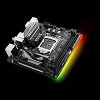 Материнcкая плата ASUS TRIX_H270I_GAMING s1151 H270 2DDR4 HDMI-DP M.2 Socket3, Wi-Fi!!!BT mITX, STRIX_H270I_GAMING