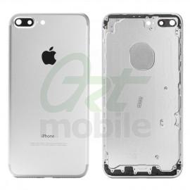 Корпус для iPhone 7 Plus, серебристый