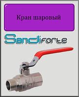 "Кран шаровый SD Forte 3/4"" ВН вода (стальной рычаг)"