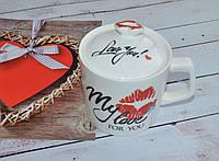 """Чашка """"Kiss""""., фото 1"""